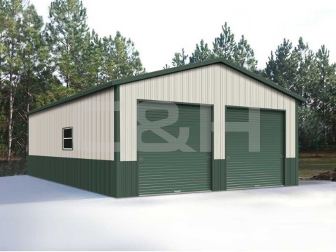 Metal Garages Quitman Tx C And H Carports
